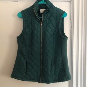 Once worn Adrienne Vittadini Quilted Vest